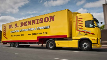 W.S. Dennison Fleet of Specialist Furniture Logistics Vehicles