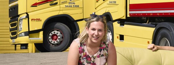 Pamela Dennison Campaigning for Diversity in Northern Ireland Transport & Logistics Industry